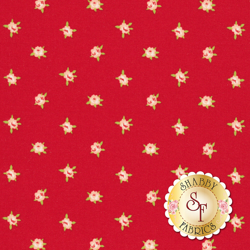 Smitten 55178-11 Sweetheart Red for Moda Fabrics
