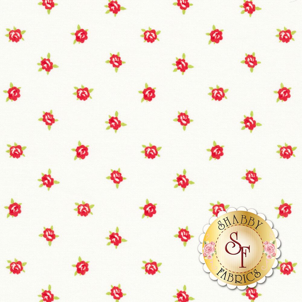 Smitten 55178-17 Sweetheart Cream for Moda Fabrics