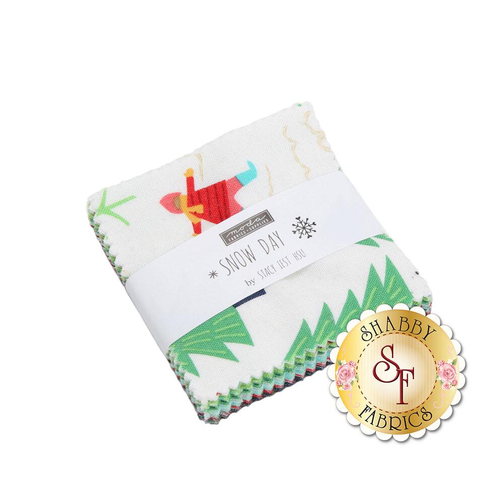 Snow Day Mini Charm Pack by Stacy Iest Hsu for Moda Fabrics