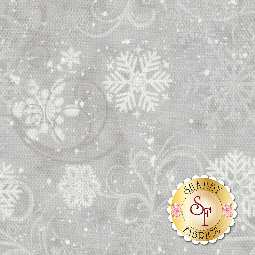 Ring In The Holly Days 2097-88 for Cream by Henry Glass Fabrics