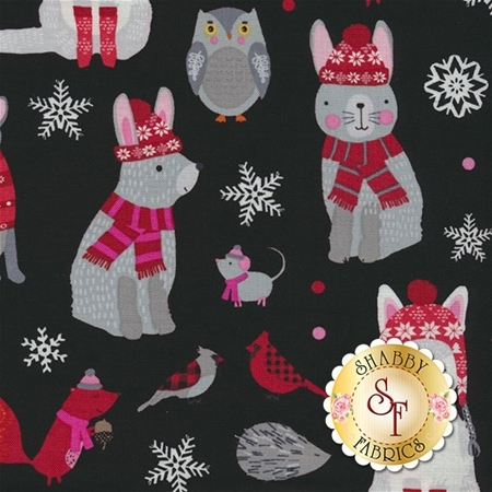 Snow Delightful 3851-98 by Natalie Alex for Studio E Fabrics
