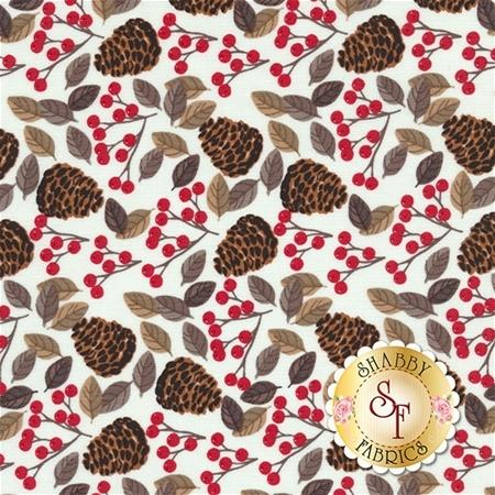Snow Delightful 3852-08 by Natalie Alex for Studio E Fabrics