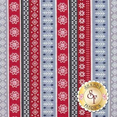 Snow Delightful 3854-98 by Studio E Fabrics