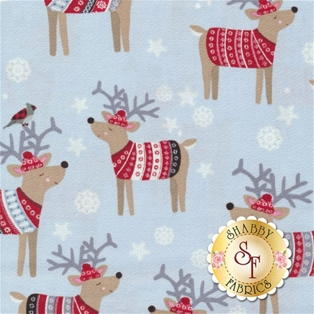 Snow Delightful 3855-90 by Natalie Alex for Studio E Fabrics