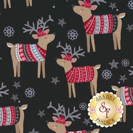 Snow Delightful 3855-99 by Natalie Alex for Studio E Fabrics