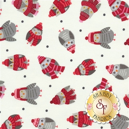 Snow Delightful 3856-08 by Natalie Alex for Studio E Fabrics