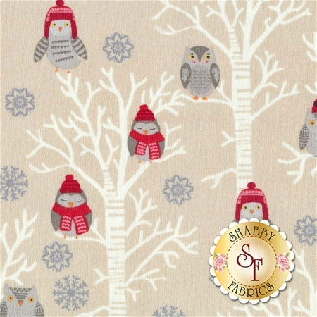 Snow Delightful 3857-41 by Studio E Fabrics