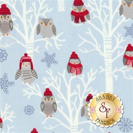Snow Delightful 3857-90 by Studio E Fabrics