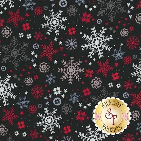 Snow Delightful 3858-99 by Studio E Fabrics