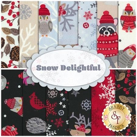 Snow Delightful  13 FQ Set by Studio E Fabrics