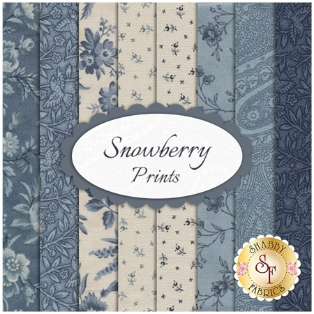 Snowberry  8 FQ Set - Print Set by 3 Sisters for Moda Fabrics