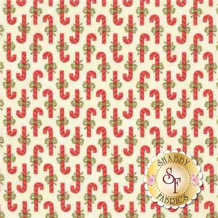 Snowfall 14830-11 Snow White by Minick and Simpson for Moda Fabrics