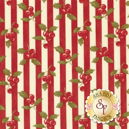 Snowfall 14831-12 Poinsettia by Minick and Simpson for Moda Fabrics REM