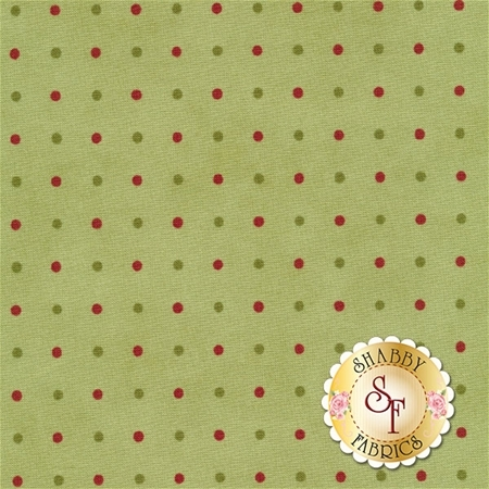 Snowfall 14832-13 Garland Green by Minick and Simpson for Moda Fabrics