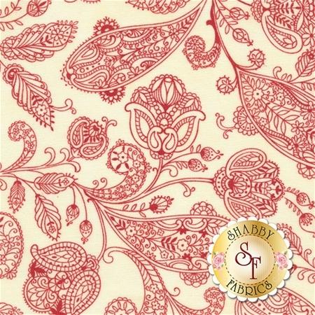 Snowfall 14833-12 Snow Poinsettia by Minick and Simpson for Moda Fabrics