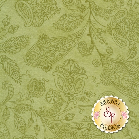 Snowfall 14833-23 Garland Green by Minick and Simpson for Moda Fabrics