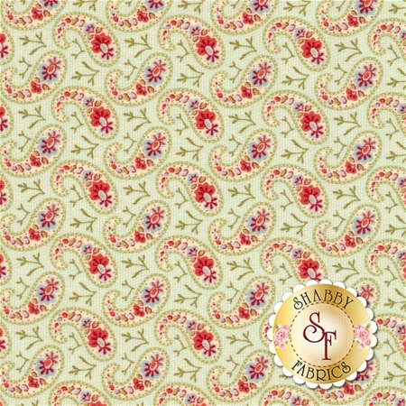 Snowfall 14834-11 Snow White by Minick and Simpson for Moda Fabrics