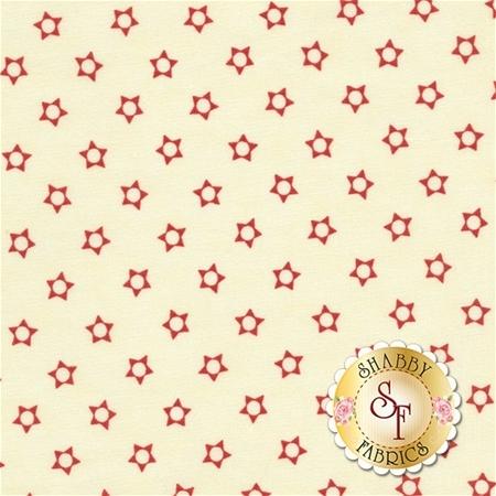 Snowfall 14835-22 Snow Poinsettia by Minick and Simpson for Moda Fabrics REM