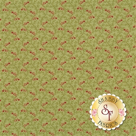 Snowfall 14836-13 Garland Green by Minick and Simpson for Moda Fabrics