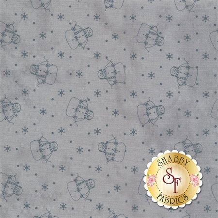 Snowman Gatherings III 1210-24 by Primitive Gatherings for Moda Fabrics