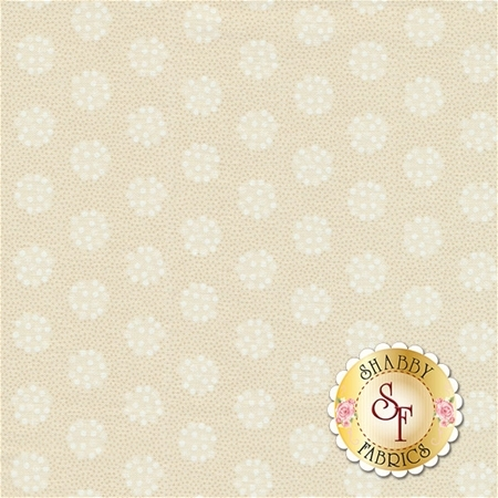Snowman Gatherings III 1214-11 Tallow Snow by Primitive Gatherings for Moda Fabrics