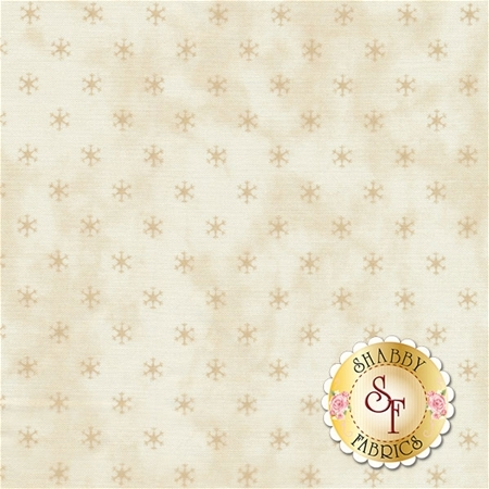 Snowman Gatherings III 1216-12 Tallow Tan by Primitive Gatherings for Moda Fabrics