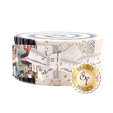Snowman Gatherings III  Jelly Roll by Primitive Gatherings for Moda Fabrics