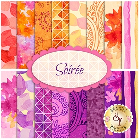 Soiree  Yardage by Studio 8 for Quilting Treasures