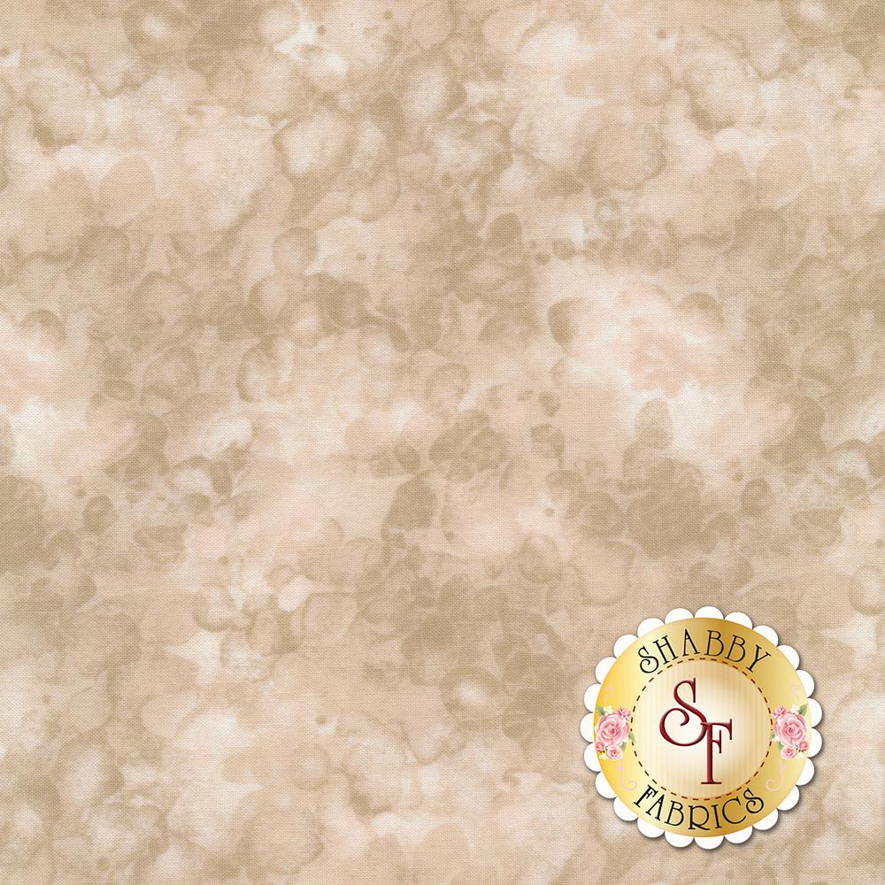 A light tan marbled and mottled basics fabric | Shabby Fabrics