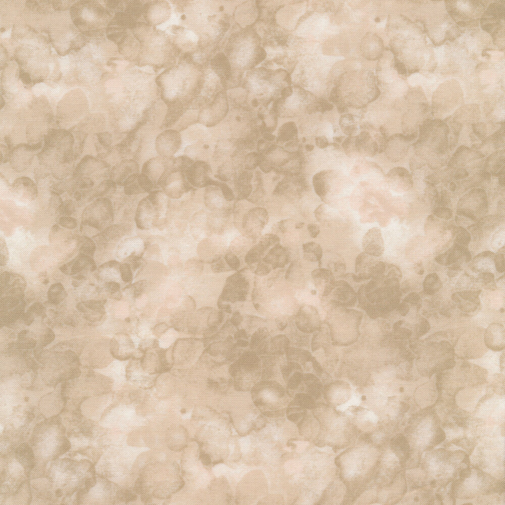 A light tan marbled and mottled basics fabric | Shabby Fabrics