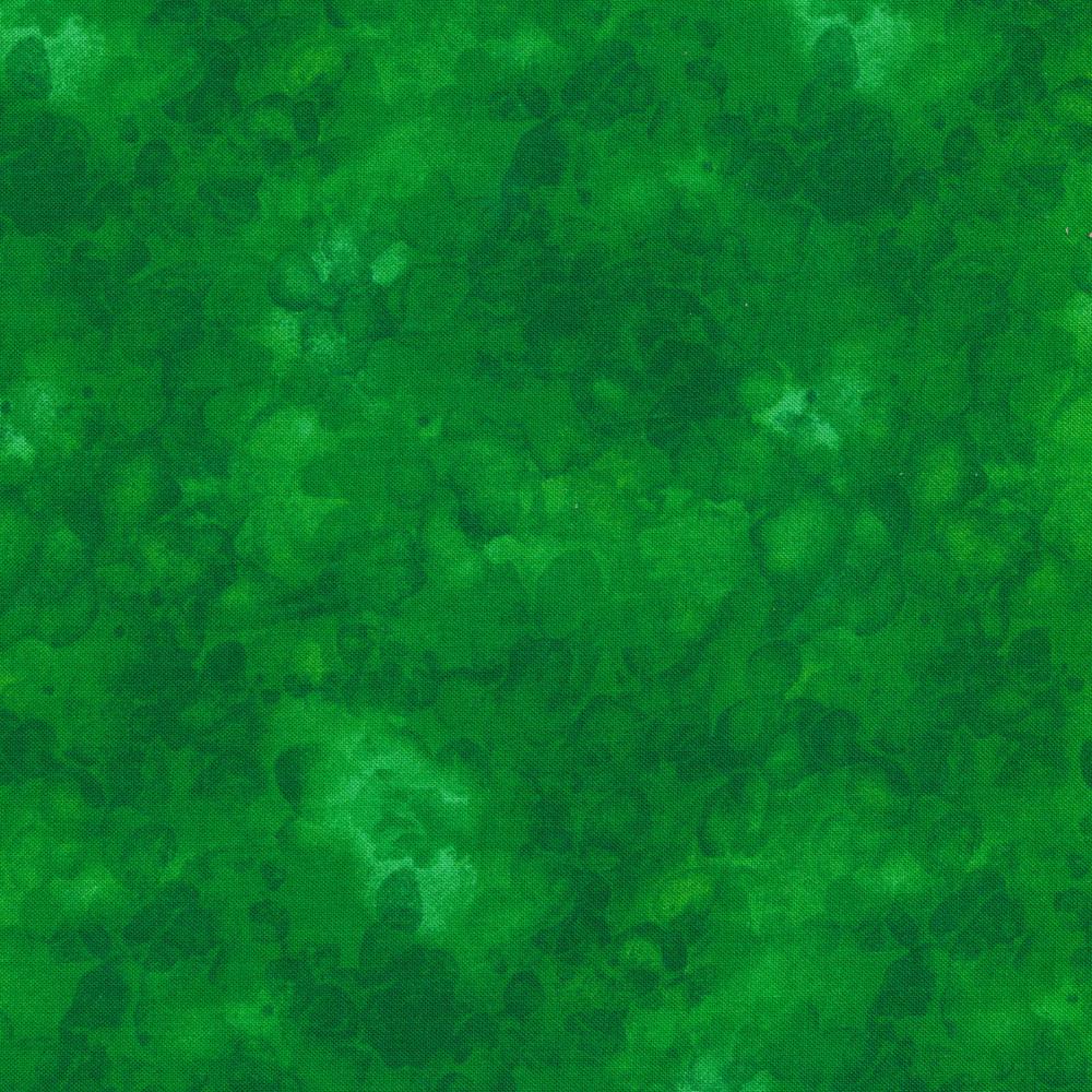 Green mottled and marbled basics fabric | Shabby Fabrics