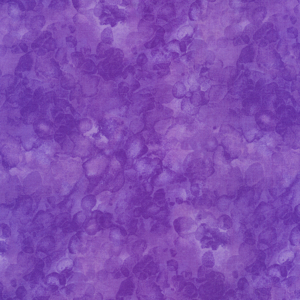 Purple tonal mottled and marbled basics fabric | Shabby Fabrics