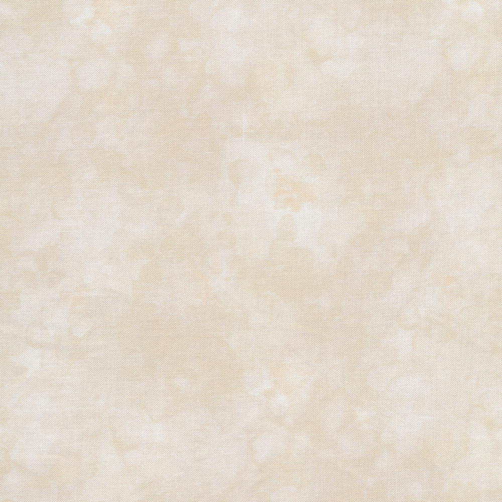 A cream and light tan marbled and mottled basics fabric | Shabby Fabrics
