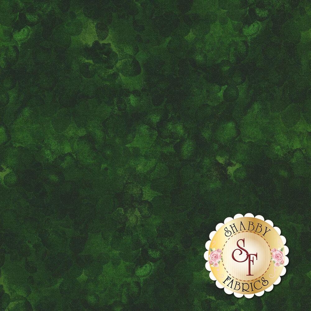 Tonal dark green fabric | Shabby Fabrics
