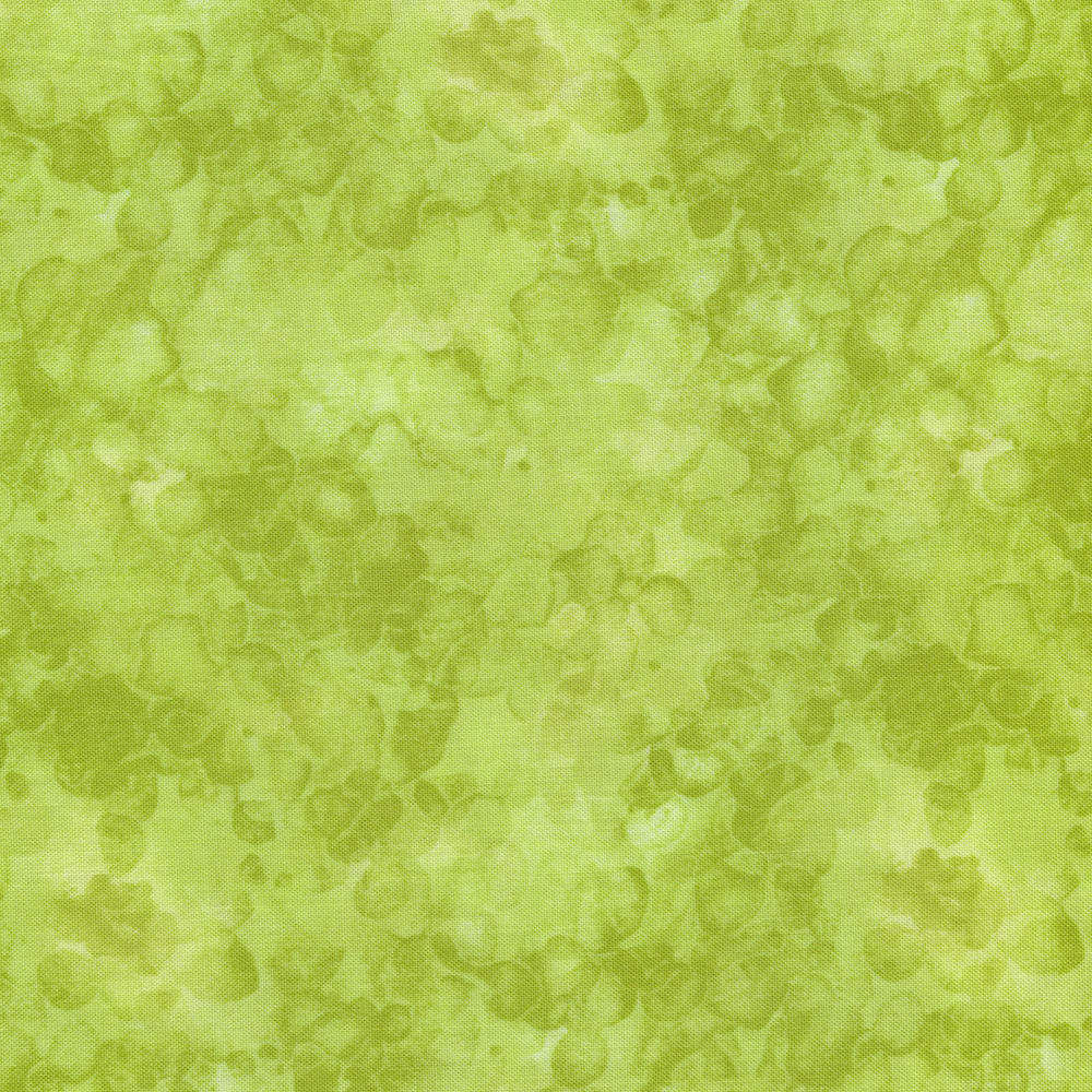 Tonal light green marbled and mottled basics fabric | Shabby Fabrics