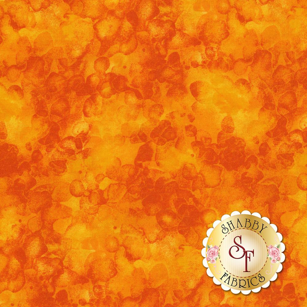 Orange marbled and mottled basics fabric   Shabby Fabrics