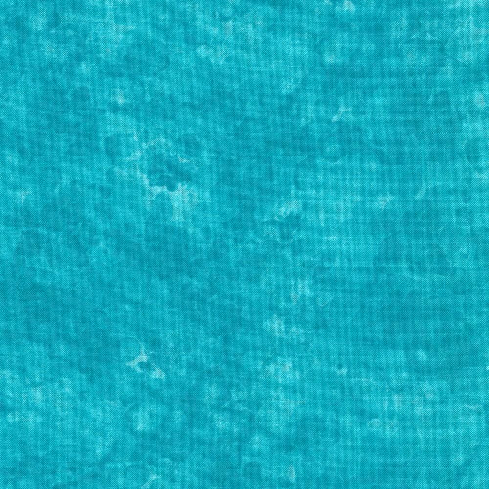 A light turquoise marbled and mottled basics fabric | Shabby Fabrics