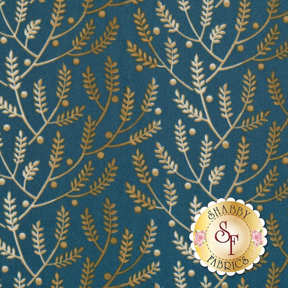 Something Blue 8823-B Wedgewood Lavender by Edyta Sitar from Andover Fabrics