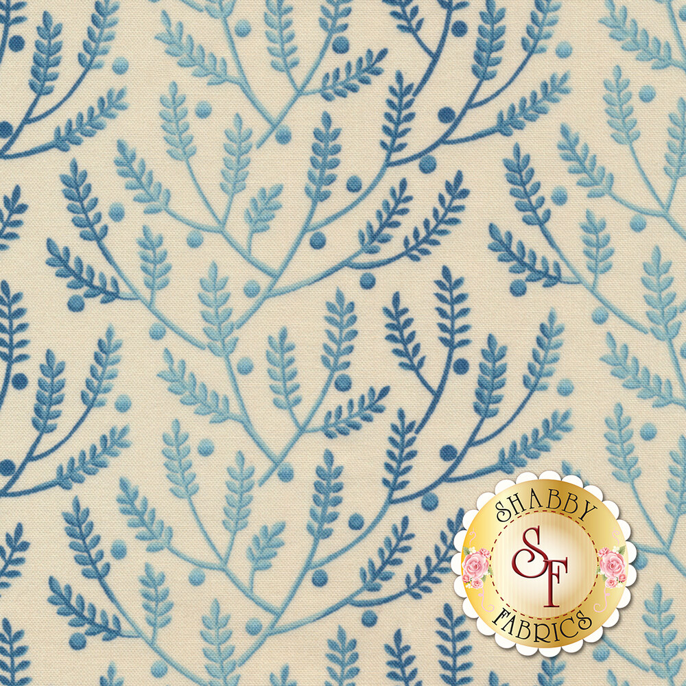 Something Blue 8823-L Bisque Lavender by Edyta Sitar from Andover Fabrics
