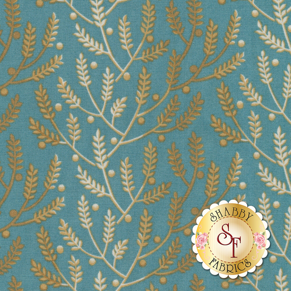 Something Blue 8823-W Cornflower Lavender by Edyta Sitar from Andover Fabrics REM