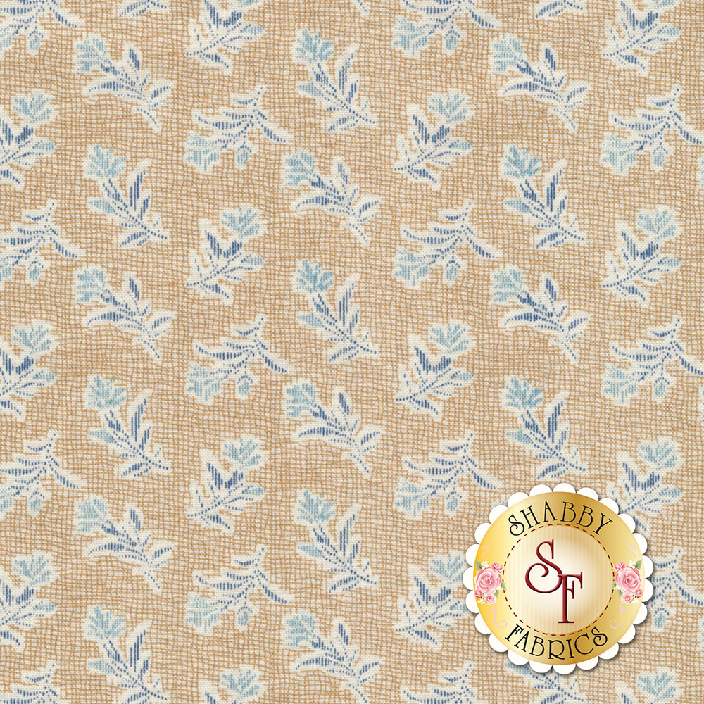 Something Blue 8826-N Burlap Summer Field by Edyta Sitar from Andover Fabrics