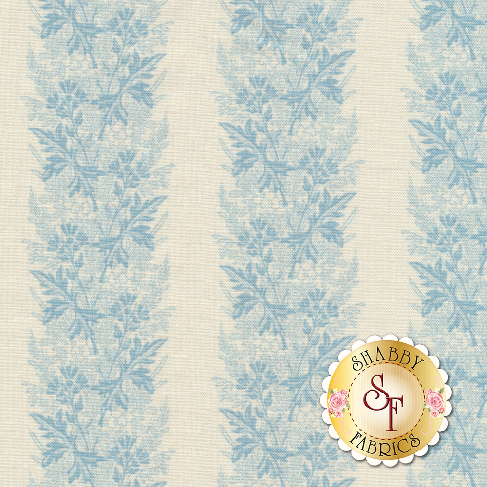 Something Blue 8827-L Promise Wreath by Edyta Sitar from Andover Fabrics