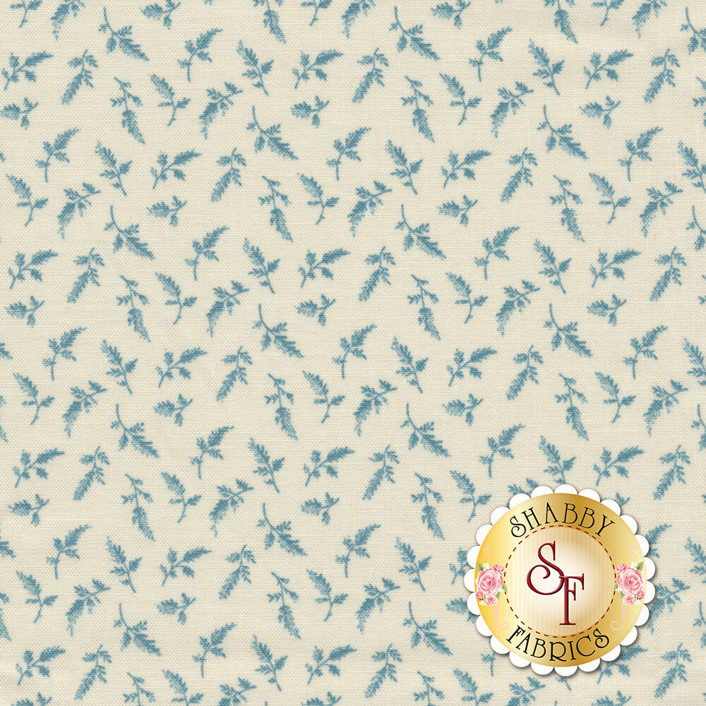 Something Blue 8832-W Ribbons Flower Girl by Edyta Sitar from Andover Fabrics