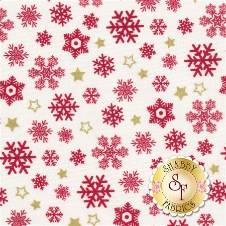 Sparkle 42380M-1 Red by Whistler Studios for Windham Fabrics