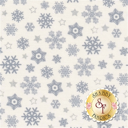 Sparkle 42380M-3 Silver by Whistler Studios for Windham Fabrics