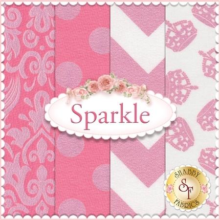 Sparkle  4 FQ Set by Riley Blake Designs