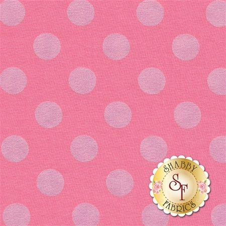 Sparkle SC430-70 Hot Pink Dots by Riley Blake Designs
