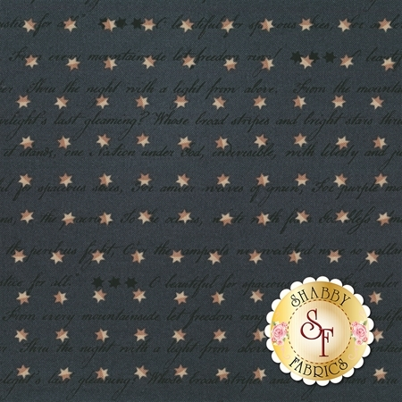 Spirit Of America 8866-77 by Stacy West for Henry Glass Fabrics- REM
