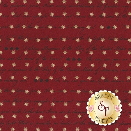Spirit Of America 8866-88 by Stacy West for Henry Glass Fabrics