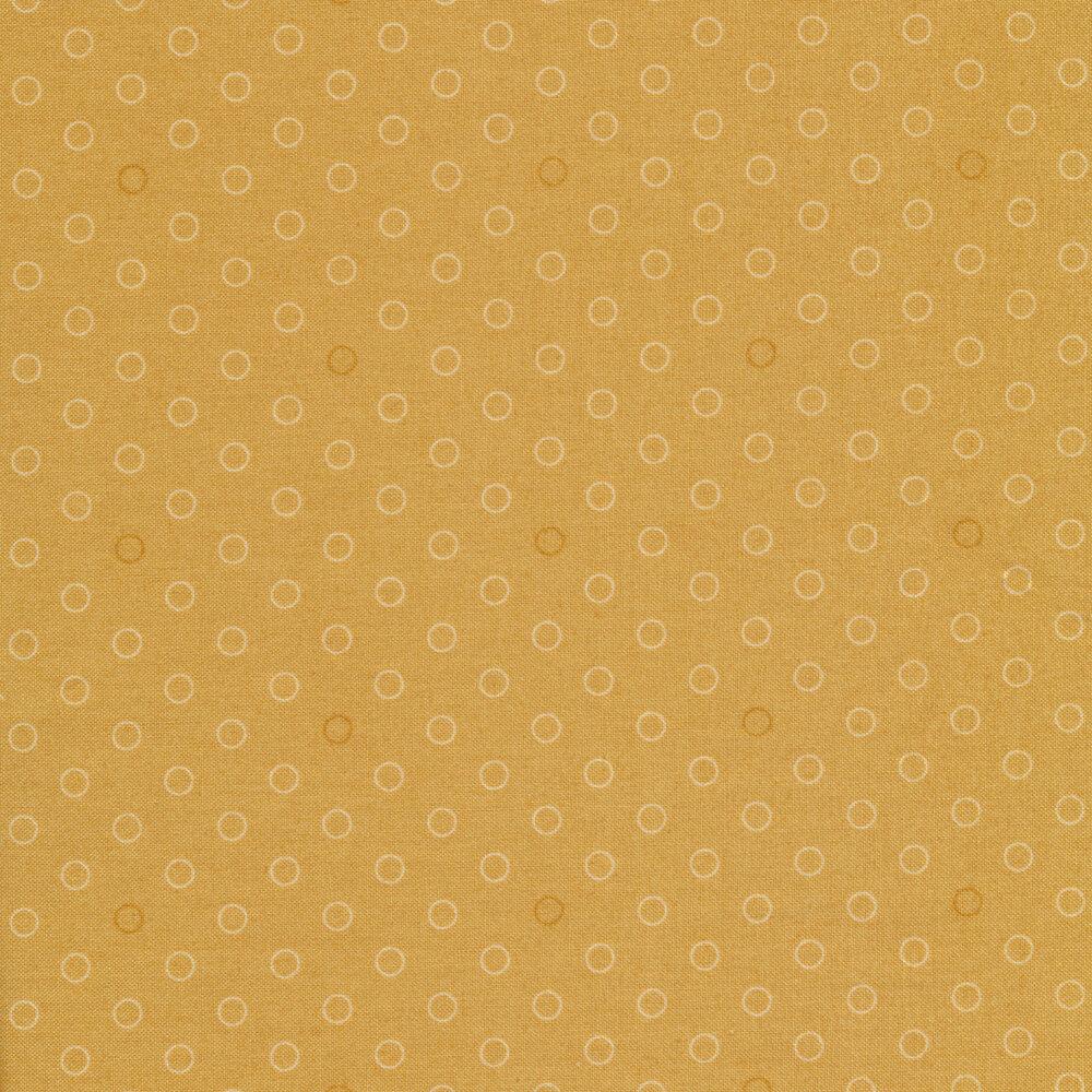 A basic greige tonal polka dot print | Shabby Fabrics